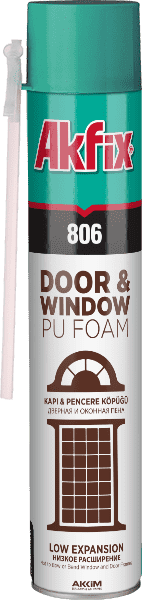 806 Door & Wındow  Low Expansion PU Foam