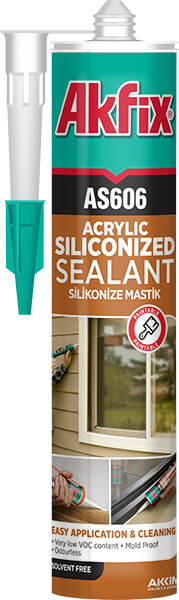 AS606 Siliconized Acrylic Sealant